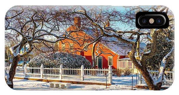 Morning Light, Winter Garden. IPhone Case