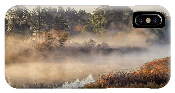 Morning Mist On The Sudbury River IPhone Case