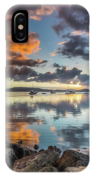 Morning Reflections Waterscape IPhone Case