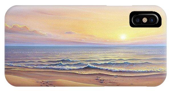 Morning Sea Breeze IPhone Case