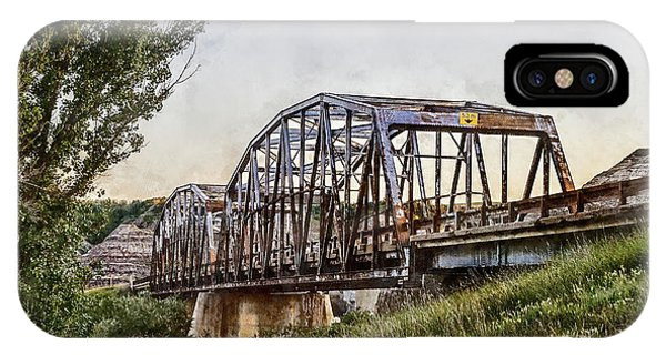 IPhone Case featuring the photograph Morrin Bridge by Brad Allen Fine Art
