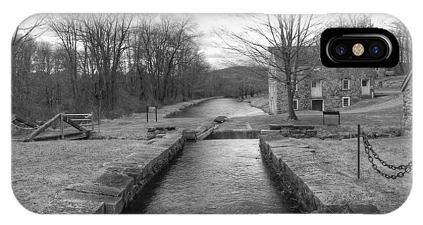 Morris Canal And Lock - Waterloo Village IPhone Case