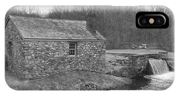 Morris Canal Lock House - Waterloo Village IPhone Case