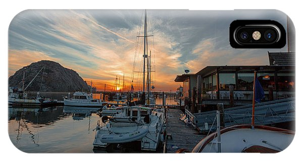 Morro Bay Sunset IPhone Case