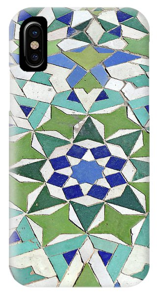Mosaic Exterior Decorations Of The Hassan II Mosque IPhone Case