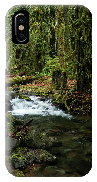 Mossy Cascade IPhone Case