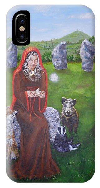 Mother Of Earth Goddess Brigantia IPhone Case