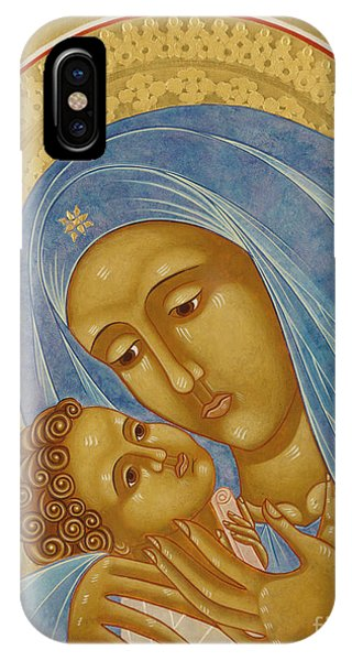Mary Mother Of God iPhone Case - Mother Of God Korsun by Jodi Simmons