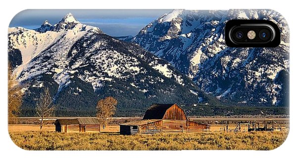 Moulton Barn Grand Tetons IPhone Case