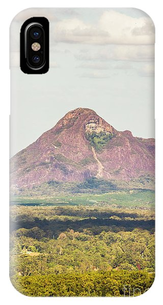 iPhone Case - Mount Beerwah by Jorgo Photography - Wall Art Gallery