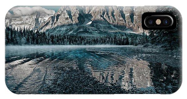 Mount Chephren Reflected IPhone Case
