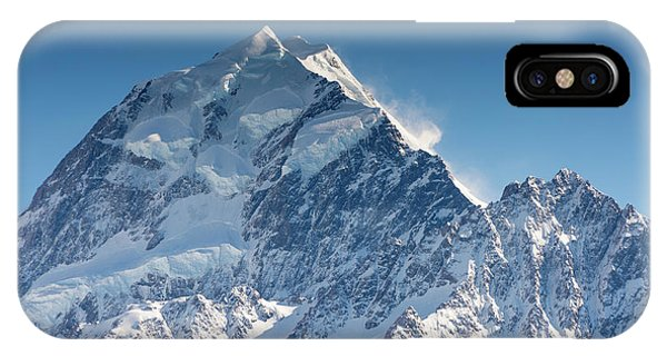 Mount Cook Aoraki Summit Ridge IPhone Case