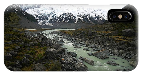 Clear iPhone Case - Mount Cook, New Zealand by Mrmichaelangelo