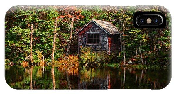IPhone Case featuring the photograph Mount Greylock Cabin by Raymond Salani III
