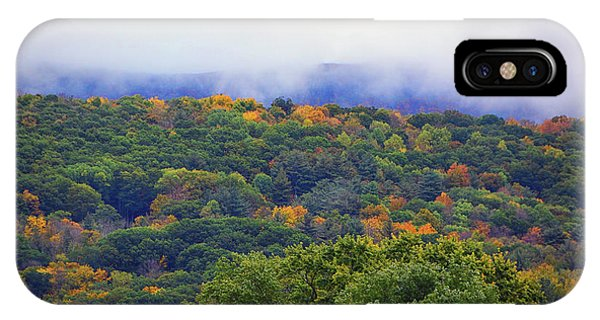 IPhone Case featuring the photograph Mount Greylock In The Clouds by Raymond Salani III