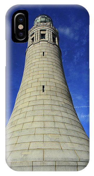 IPhone Case featuring the photograph Mount Greylock Tower Up And Close by Raymond Salani III