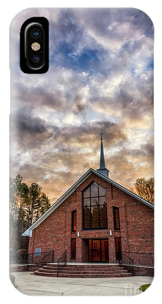 iPhone Case - Mount Moriah Baptist Church by Thomas R Fletcher