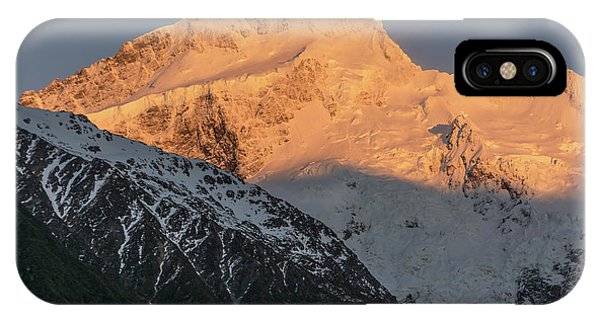 Mount Sefton Sunrise IPhone Case