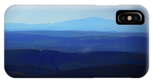 IPhone Case featuring the photograph Mount Monadnock From Mount Greylock by Raymond Salani III