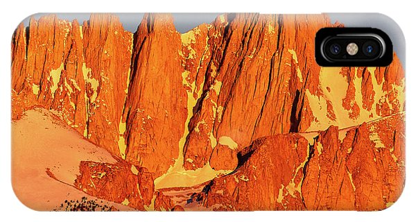 Mount Whitney Sunrise IPhone Case