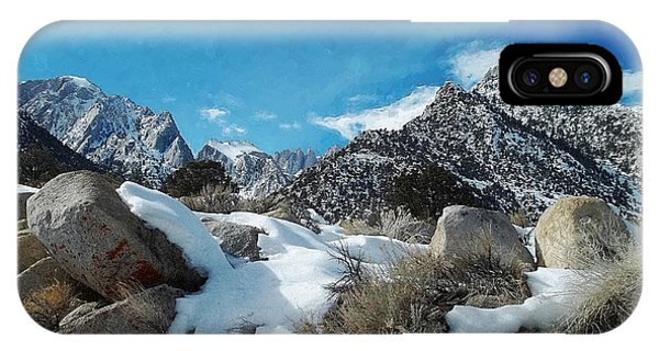 Mount Whitney Vista IPhone Case