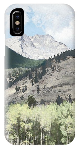 Mount Ypsilon IPhone Case