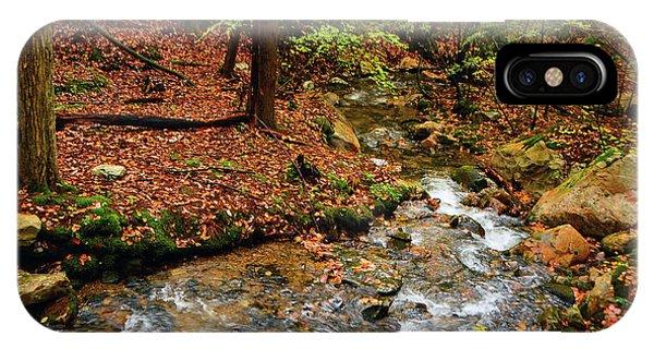 IPhone Case featuring the photograph Mountain Creek In Ma by Raymond Salani III