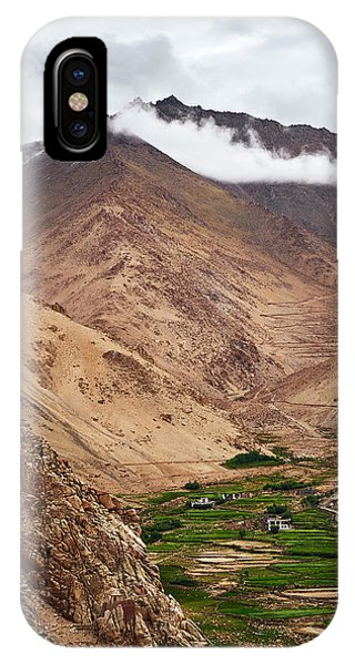 IPhone Case featuring the photograph Mountain Farming by Whitney Goodey