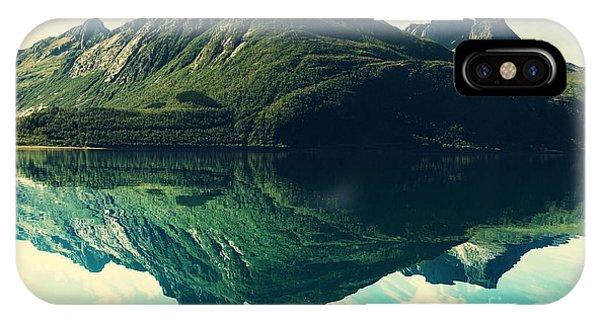 Serenity iPhone Case - Mountain Lake by Galyna Andrushko