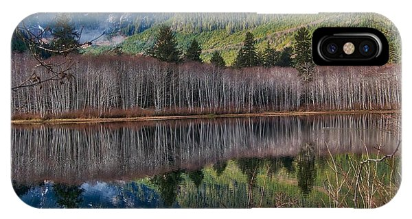 Mountain Lake Reflections IPhone Case