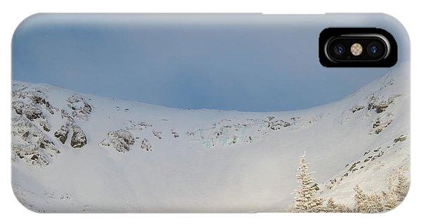 Mountain Light, Tuckerman Ravine IPhone Case