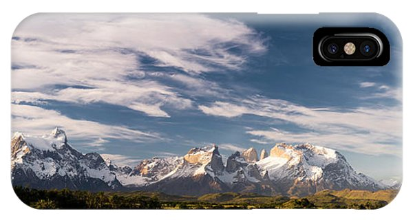 iPhone Case - Mountain Range At Sunset Seen From Rio by Panoramic Images