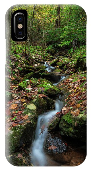 Mountain Stream - Blue Ridge Parkway IPhone Case