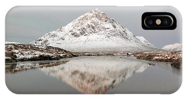 IPhone Case featuring the photograph Mountain Sunrise - Glencoe - Scotland by Grant Glendinning