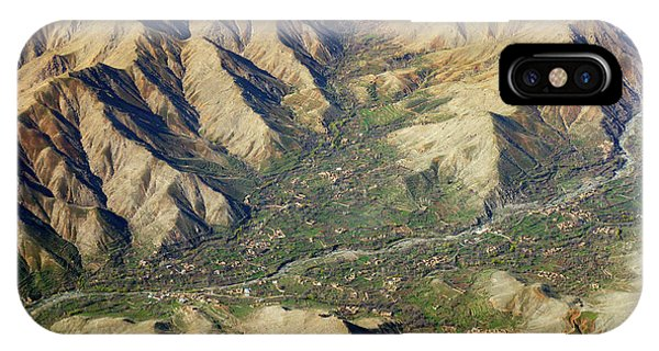 IPhone Case featuring the photograph Mountain Valley Village by SR Green