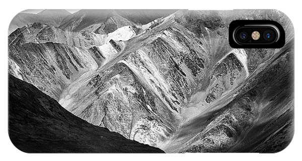 IPhone Case featuring the photograph Mountains At Pangong by Whitney Goodey