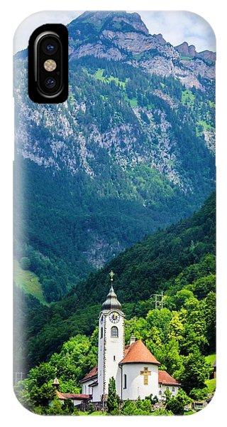 Mountainside Church IPhone Case