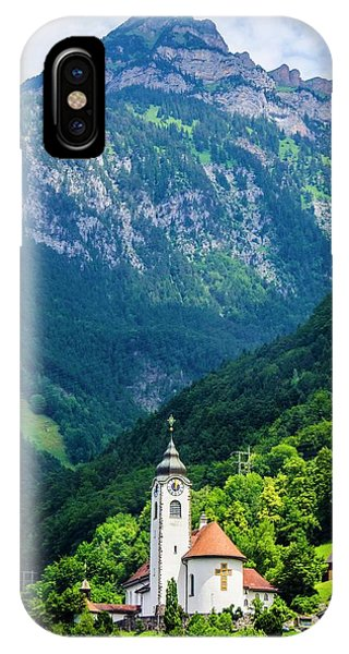 Mountainside Church IPhone Case