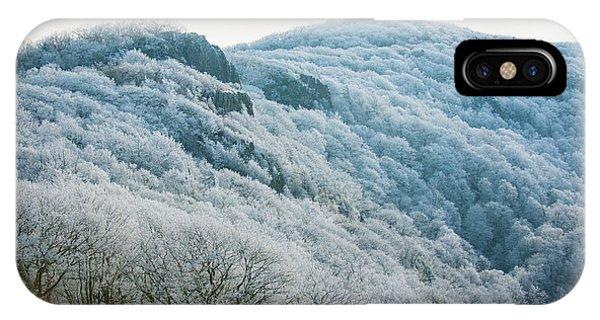 Mountainside Hoarfrost IPhone Case