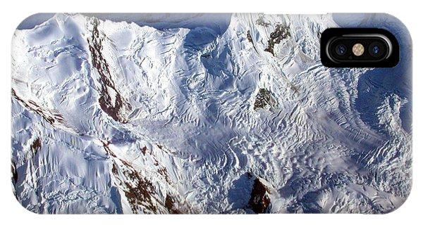 Mountaintop Snow IPhone Case