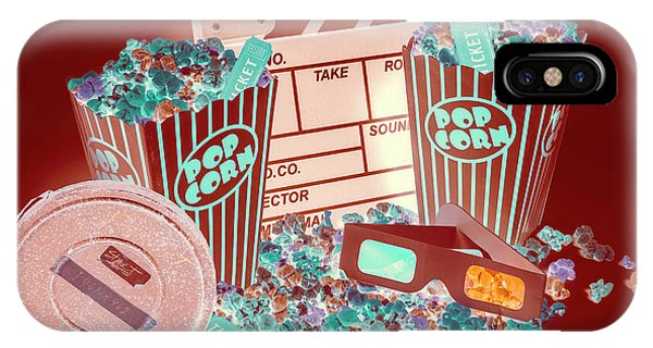 Movie iPhone Case - Movie Makers Inc. by Jorgo Photography - Wall Art Gallery
