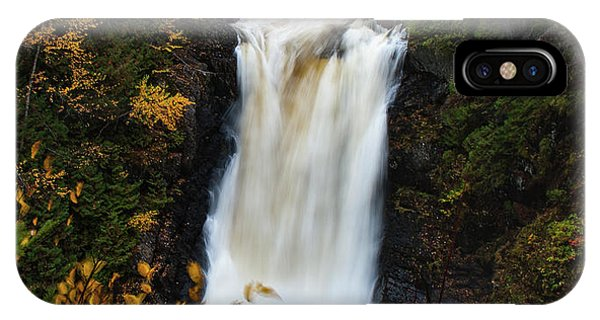 IPhone Case featuring the photograph Moxie Falls by Rick Hartigan