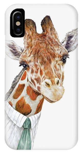 Animal iPhone Case - Mr Giraffe by Animal Crew