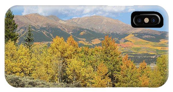 Mt. Elbert Autumn Phone Case by Aaron Spong