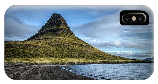 Mt Kirkjufell IPhone Case