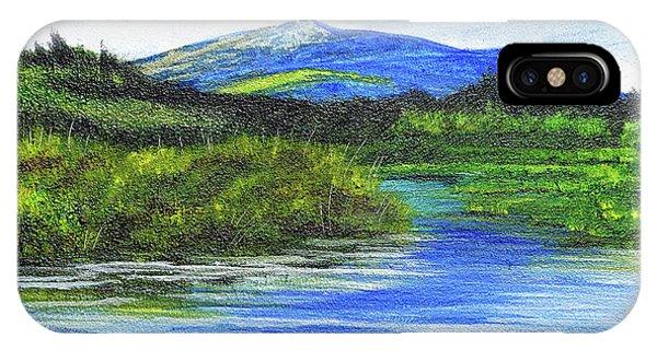 Mt. Monandnock From Scott Brook IPhone Case