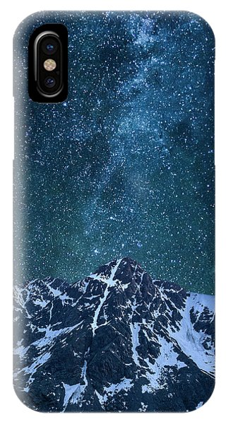 Fourteener iPhone Case - Mt. Of The Holy Cross Milky Way by Aaron Spong