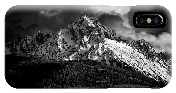 Mt Sneffels Drama IPhone Case