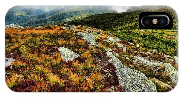 Mt. Washington Nh, Autumn Rays IPhone Case