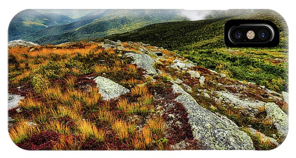 Mt. Washington Nh, Autumn Rays IPhone Case